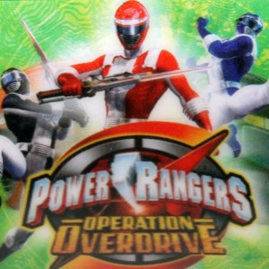 Puzzle 35 el. 3D Pover Rangers Operation Overdrive