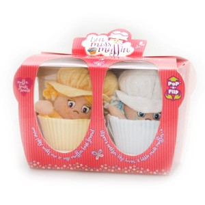 LITTLE MISS MUFFIN Laleczka 2w1 2 pack Vanilla & Sugar 22cm