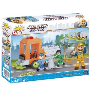 Cobi Klocki Action Town Street Sweeper 1784