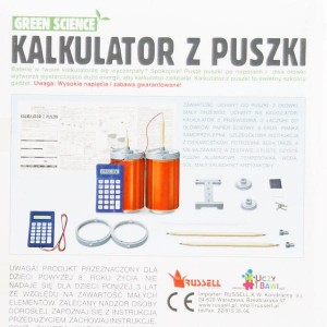 Green Science - Kalkulator z puszki
