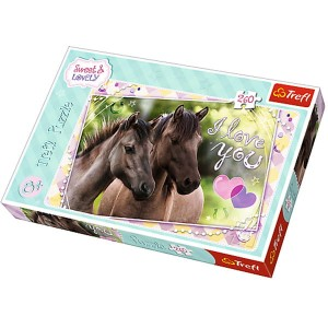 "Puzzle 260 el. ""Sweet & Lovely - Kochamy konie"""