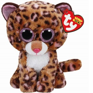 Maskotka TY Beanie Boos PATCHES Leopard 24cm 37068