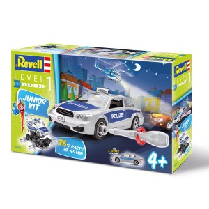 REVELL JUNIOR KIT 1/20 /00882/ Police - Car