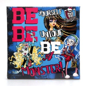 "Obraz 25x25cm ""Monster High"""