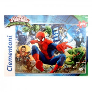 Puzzle 104 el. Ultimate Spiderman Clementoni
