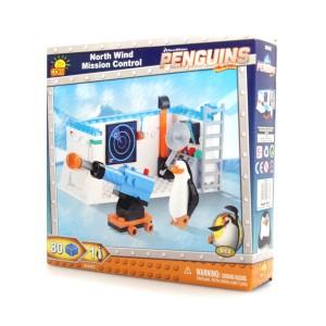 Klocki Cobi Baza Kontrolna Wiatru Północy Pingwiny z Madagaskaru 26082