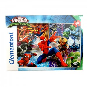 Puzzle 60 el. Ultimate Spiderman Clementoni