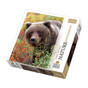 Puzzle 1000 el. TREFL NATURE Grizzly