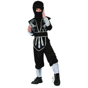 Strój Ninja Wojownik rozm 130/140