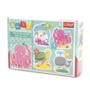 """Puzzle BABY CLASSIC TREFL """"W głębinach"""""""