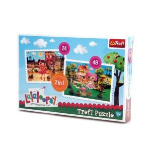 """Puzzle 2w1 TREFL """"Lala Loopsy"""" MGA"""