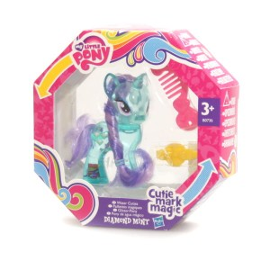 My Little Pony Brokatowa Diamond Mint CUTIE MARK MAGIC