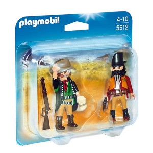 Playmobil Duo Pack Szeryf i bandyta 5512