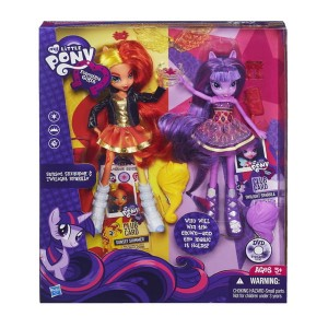 My little pony equestria girls Sunset Shimmer i Twilight Sparkle
