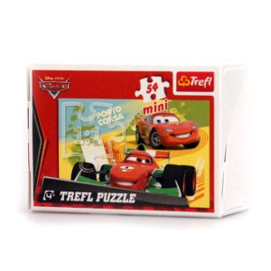 Puzzle 54 el. TREFL mini Cars