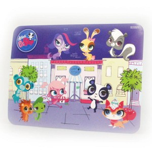Mata laminowana Littlest Pet Shop