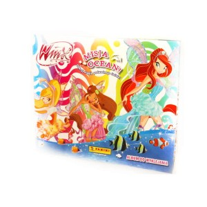 Winx Album do naklejek