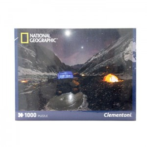 "Puzzle 1000 el. National Geographic ""Everest Camp"" Clementoni"